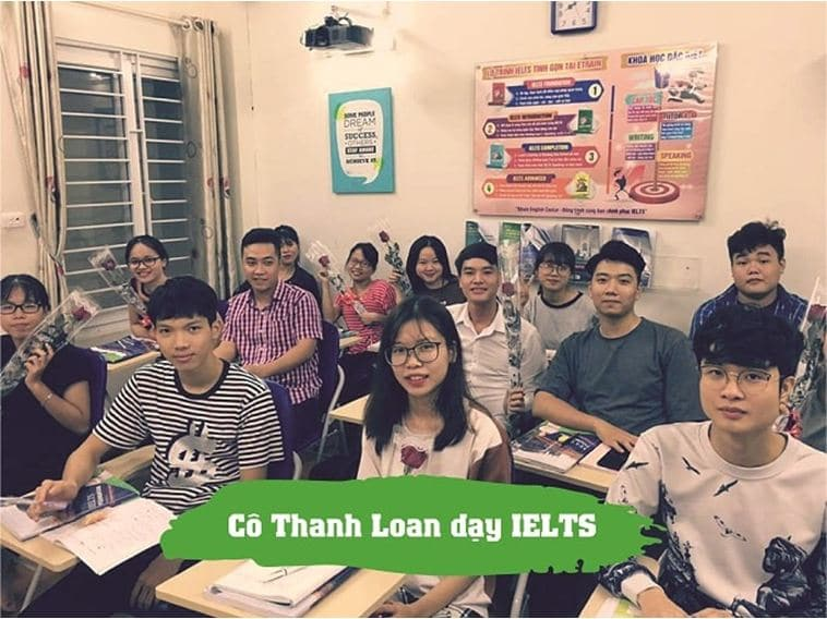 co thanh loan day ielts 2
